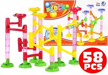 Lean Toys, zjeżdżalnia-tor dla kulek-Lean Toys