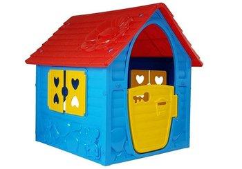 LEANToys, domek ogrodowy dla dzieci, niebieski-Lean Toys