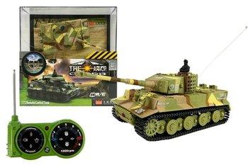 LEANToys, pojazd zdalnie sterowany Czołg R/C 35 MHz 1:72-Lean Toys
