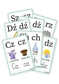 LearnHow, plansze edukacyjne - Dwuznaki-LearnHow