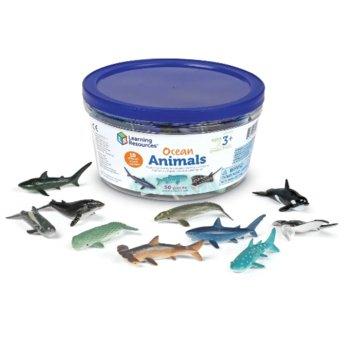 Learning Resources, Figurki, Zwierzęt morskie, 50 szt.-Learning Resources
