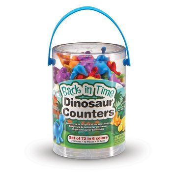 Learning Resources, Liczmany, Dinozaury, 72 szt.-Learning Resources