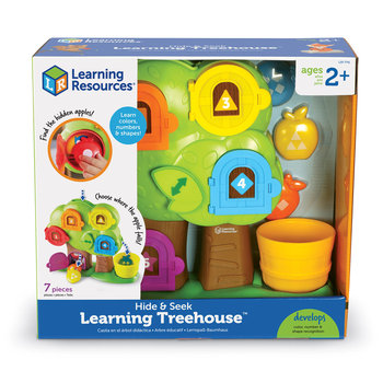 Learning Resources, sorter Magiczne Drzewko, Zestaw Edukacyjny 7 szt. Learning Resources-Learning Resources