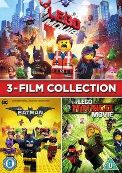 LEGO 3-film Collection (brak polskiej wersji językowej)-Lord Phil, Miller Christopher, McKay Chris, Bean Charlie, Fisher Paul, Logan Bob