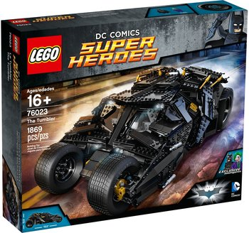LEGO Batman, klocki The Tumbler Auto Batmana Joker,76023-Batman