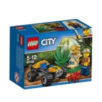 LEGO City, klocki Dżunglowy Łazik, 60156