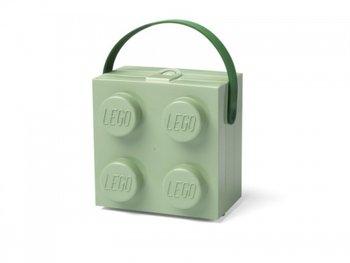 LEGO Classic 40240005 Pudełko na śniadanie z rączką zielone-ROOM COPENHAGEN