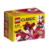 LEGO Classic, klocki Czerwony zestaw kreatywny, 10707