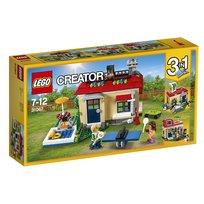 LEGO Creator, klocki Wakacje na basenie, 31067