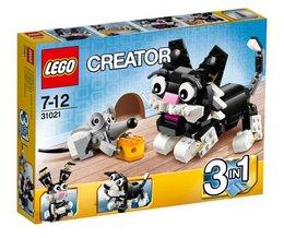 LEGO CREATOR, klocki Zabawa w kotka i myszkę, 31021 -Lego