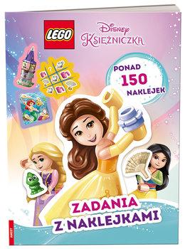 Lego Disney Princess. Zadania z naklejkami-Opracowanie zbiorowe