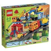 LEGO DUPLO, klocki Pociąg, zestaw deluxe, 10508