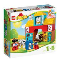 LEGO DUPLO, My First, klocki Moja pierwsza farma, 10617