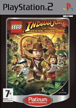 Lego Indiana Jones The Original Adventures Playstation 2