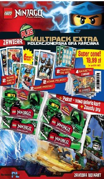 Niesamowite LEGO Ninjago TCG Multipack Extra Plus - | Prasa Sklep EMPIK.COM LK33