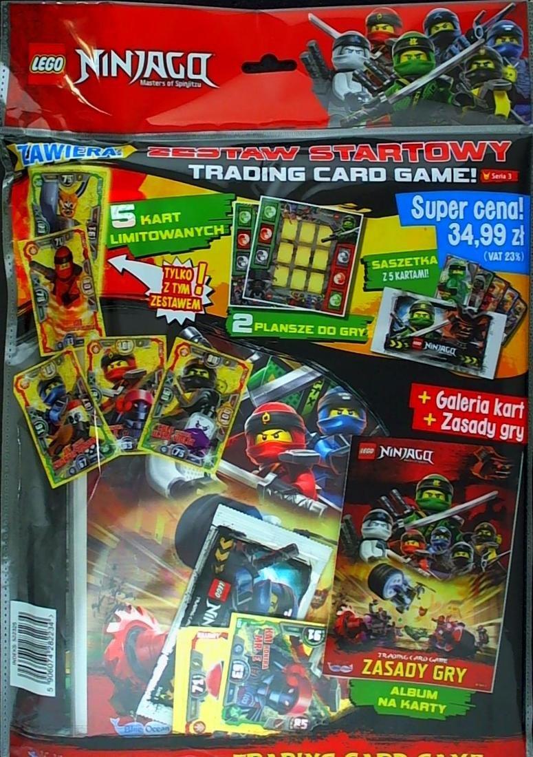 Lego Ninjago Tcg Zestaw Startowy Prasa Sklep Empikcom