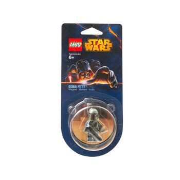 LEGO Star Wars, figurka magnetyczna Boba Fett, 851317-Lego