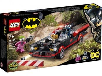 LEGO Super Heroes, klocki Klasyczny serial telewizyjny Batman - Batmobil, 76188 -Lego