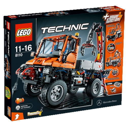 LEGO Technic, klocki Unimog V2, 8110