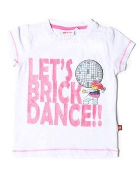 2155fa0a01dd1a Lego Wear, T-shirt dziewczęcy, Brick Dance, rozmiar 152 - Lego Wear ...