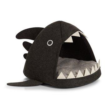 Legowisko dla kota lub psa Rekin : Kolor - Dark grey-MIA home