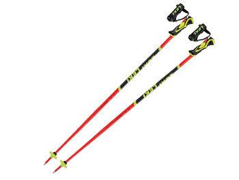 LEKI, Kije narciarskie, Worldcup WCR Lite SL 3D Red 2021, 100cm-Leki