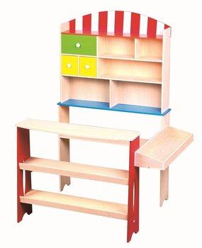 Lelin, drewniany supermarket-Lelin