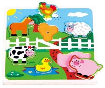 Lelin, puzzle muzyczne Farma-Lelin