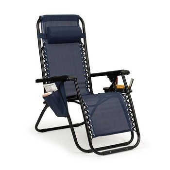 Leżak fotel ogrodowy plażowy składany zero gravity ModernHome-Modernhome