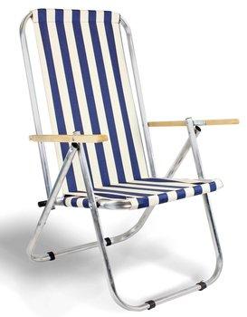 Leżak plażowy / krzesło składane - dwie pozycje, max 150 KG - tradycyjne-e-sezon