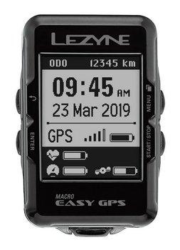 Lezyne, Licznik rowerowy, MACRO EASY GPS, czarny-Lezyne