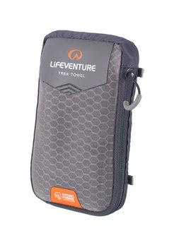 Lifemarque, Ręcznik szybkoschnący, HydroFibre, szary, 100x72 cm-lifeventure