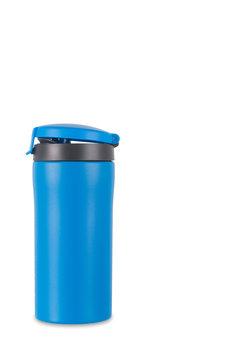 Lifeventure, Kubek termiczny, FlipTop Matt, niebieski-lifeventure