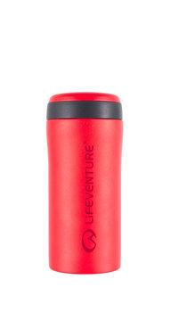 Lifeventure, Kubek termiczny, Matt czerwony, 300 ml-lifeventure