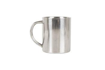 LIFEVENTURE, Kubek turystyczny, Stainless Steel Camping Mug, srebrny, 300 ml-lifeventure