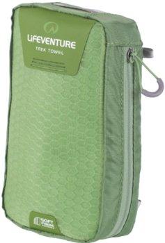LIFEVENTURE, Ręcznik, SoftFibre Advance Trek Towel X Large, zielony-lifeventure