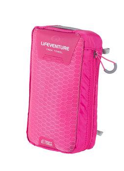 Lifeventure, Ręcznik szybkoschnący, SoftFibre różowy, 130x75 cm-lifeventure