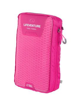 Lifeventure, Ręcznik szybkoschnący, SoftFibre różowy, 150x90 cm-lifeventure