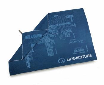 Lifeventure, Ręcznik szybkoschnący, SoftFibre World in Words, 150x90 cm-lifeventure