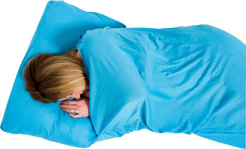 Lifeventure, Śpiwór, Coolmax Stretch Sleeping Bag Liner, Aqua-lifeventure