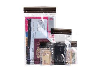 LIFEVENTURE, Zestaw wodoodpornych torebek, DriStore LocTop Bags For Valuables-lifeventure