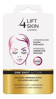 Lift 4 Skin, One Shot Action, hydrożelowe płatki pod oczy Kolagen i Drobinki Złota, 1 para-Lift 4 Skin