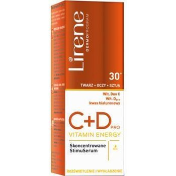 Lirene, C + D Pro Vitamin Energy, serum na noc 30+, 30 ml-Lirene