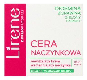 Lirene, Cera Naczynkowa, nawilżający krem wzmacniający naczynka na dzień, 50 ml-Lirene