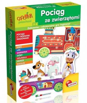 Lisciani, Carotina, gra edukacyjna Pociąg ze zwierzętami-LISCIANIGIOCHI