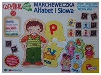 Lisciani Giochi, gra edukacyjna Marcheweczka Alfabet i Słowa