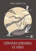 Literatura koreańska XX wieku-Ogarek-Czoj Halina