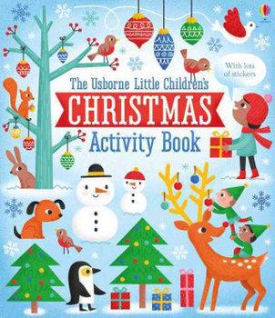 Little Children's Christmas Activity Book-Maclaine James, Bowman Lucy, Harrison Erica