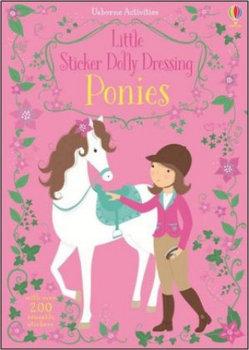 Little Sticker Dolly Dressing Ponies-Watt Fiona