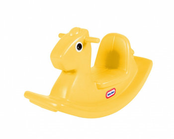 Little Tikes, koń na biegunach, żółty-Little Tikes